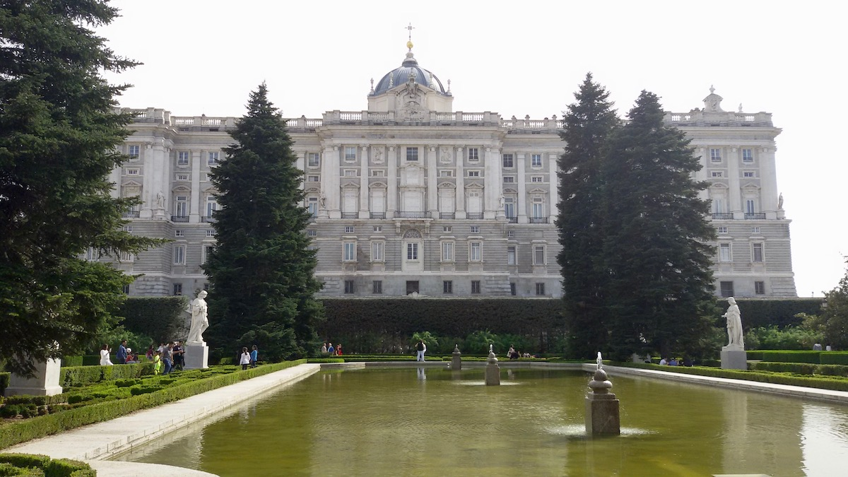royal palace gardens madrid