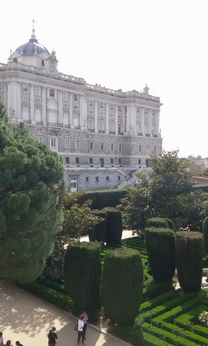 madrid things to do royal palace