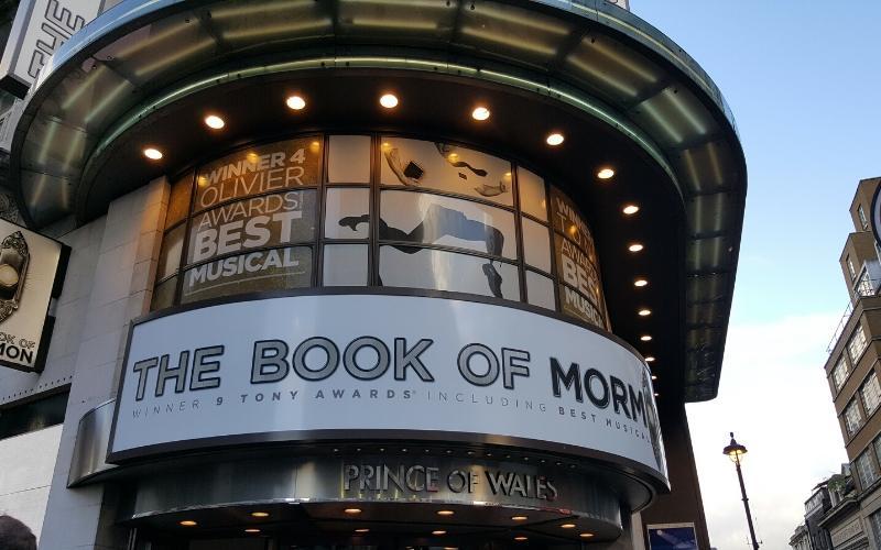 best musicals london book of mormon