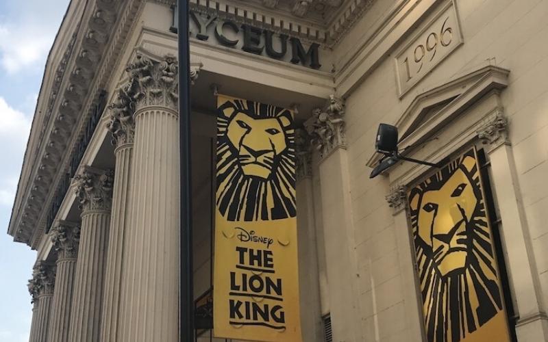 lion king lyceum best musicals london