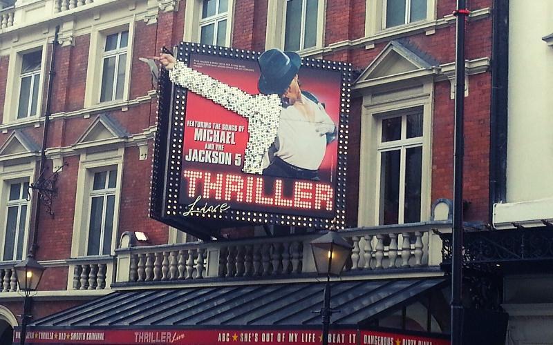thriller best musicals london