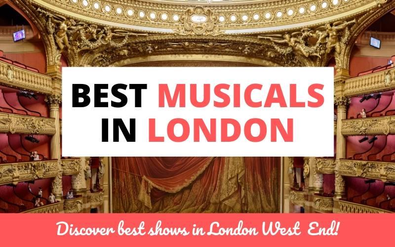 best musicals london