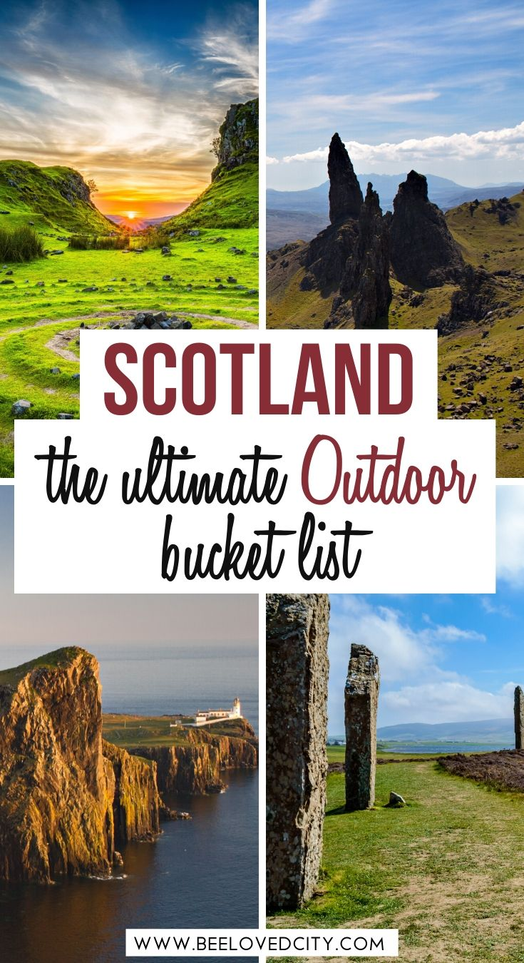 the best outdoor activities in scotland