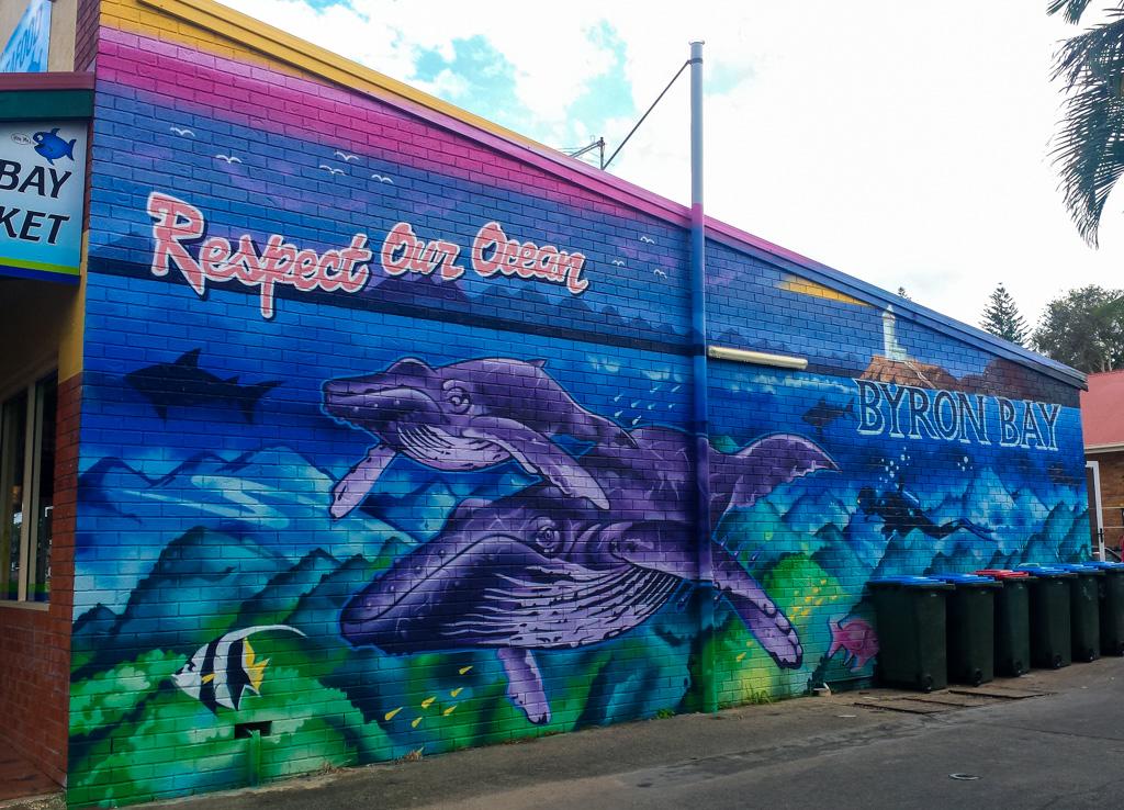 byron bay town street art