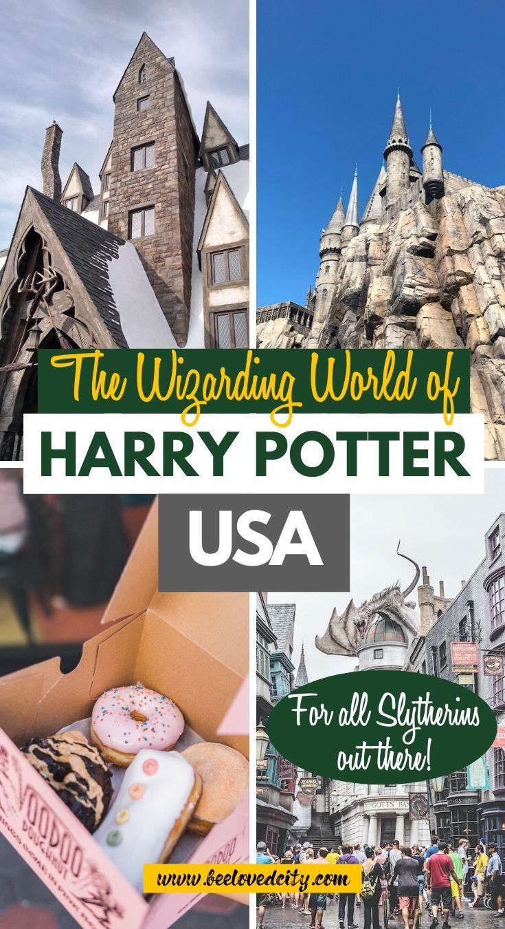 wizarding world florida california