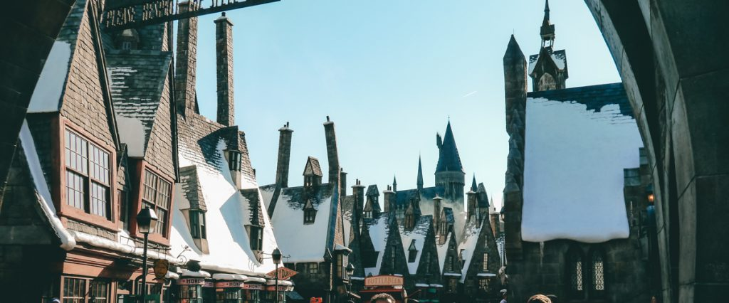 Hogsmeade at the Wizarding World of Harry Potter in Orlando