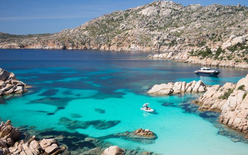 best beaches sardinia Cala Coticcio