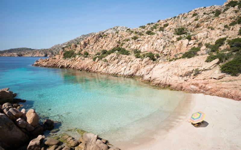 maddalena beaches Cala Coticcio