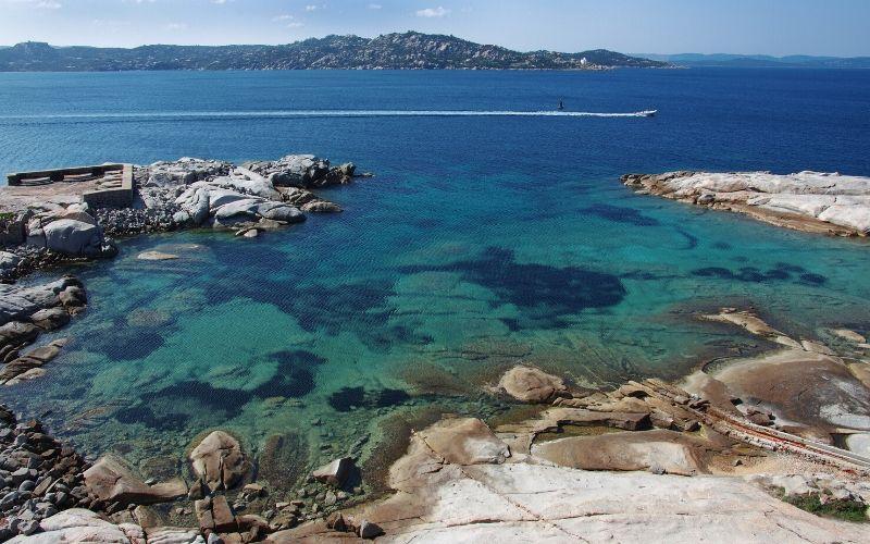 beach maddalena archipelago