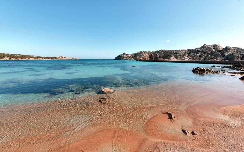 maddalena Spalmatore beach