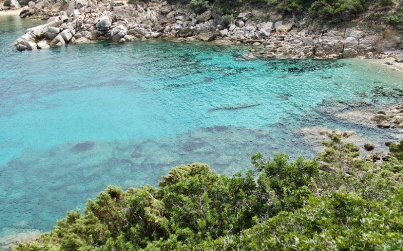 beach maddalena Spiaggia I due Mari