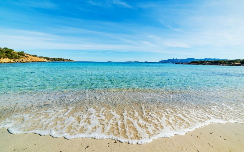 maddalena beach Spiaggia del Relitto