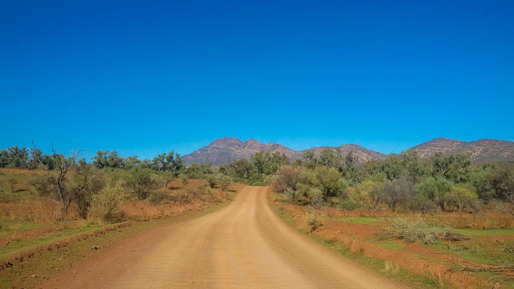 Road trip Flinders ranges in south australia