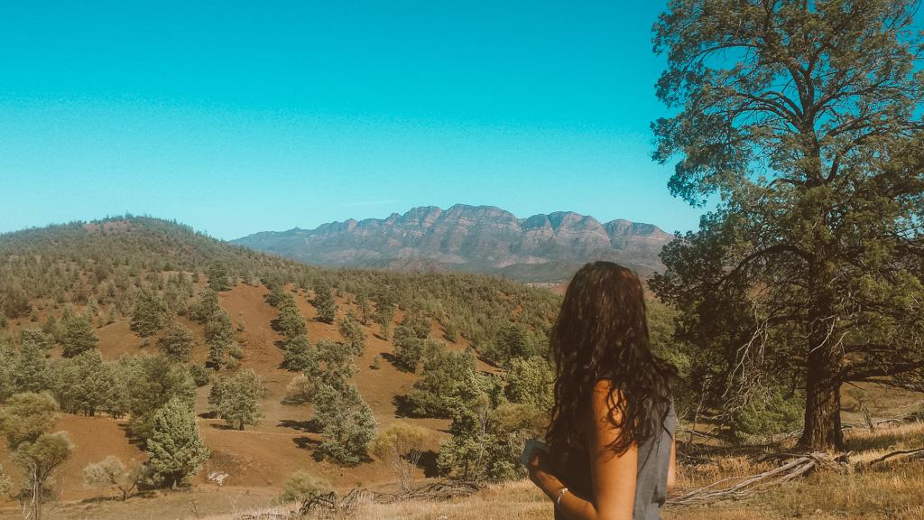 Flinders ranges in south australia