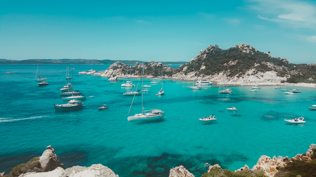 La Maddalena Archipelago in Sardinia