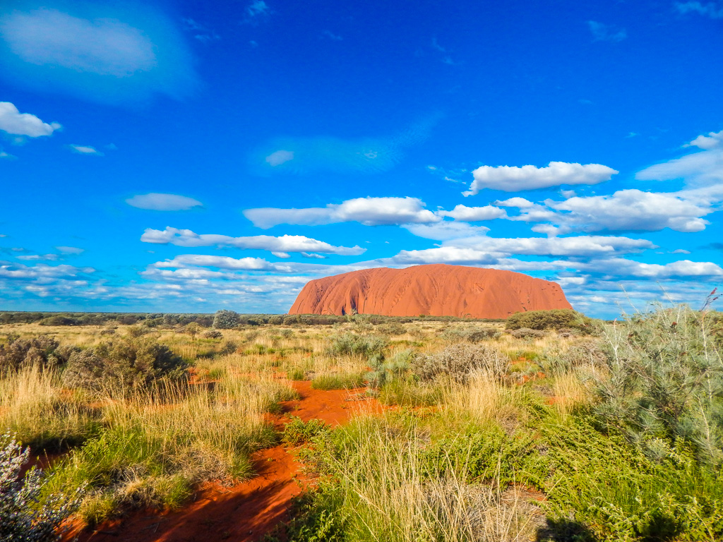 Views of Uluru