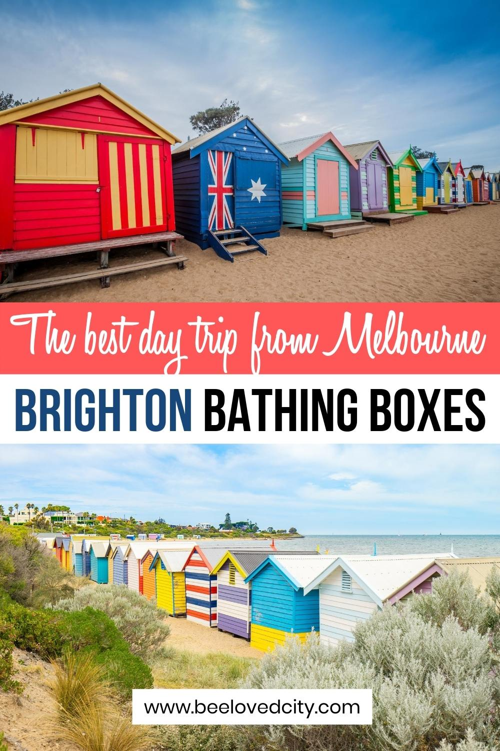 day trip from melbourne to brighton beach boxes