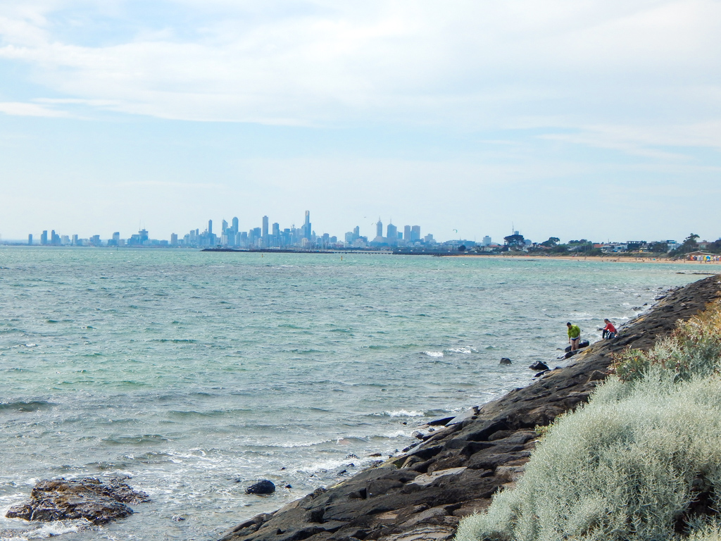 melbourne views from brighton beach