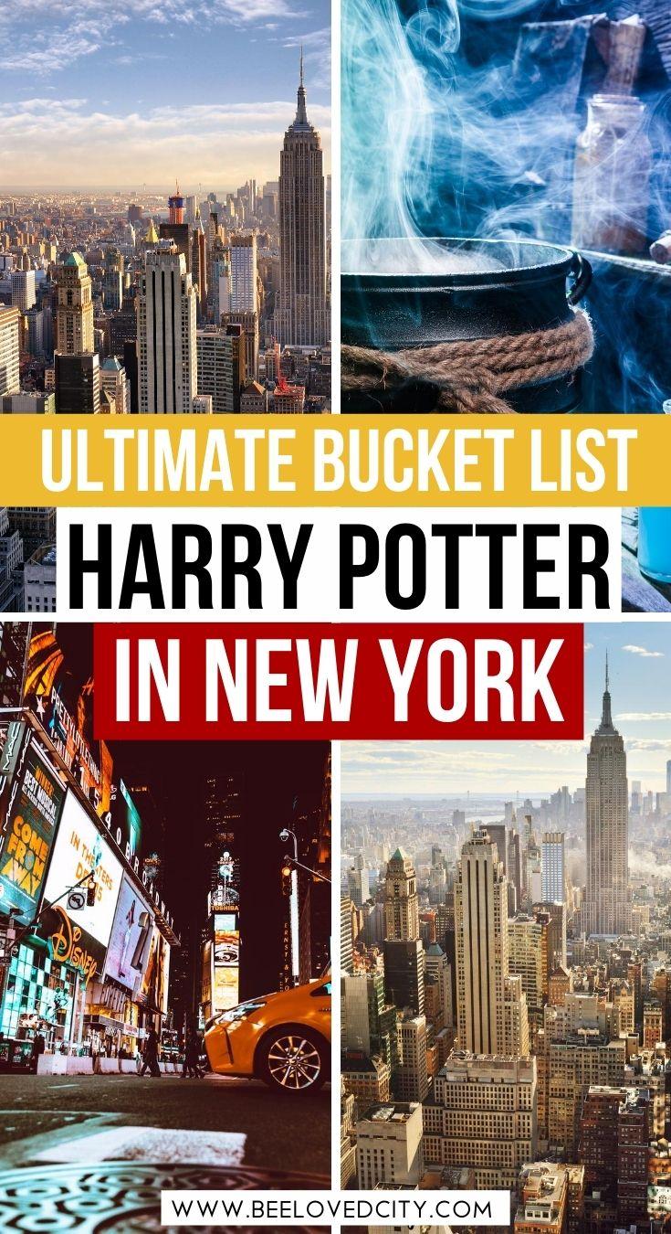 harry potter new york city