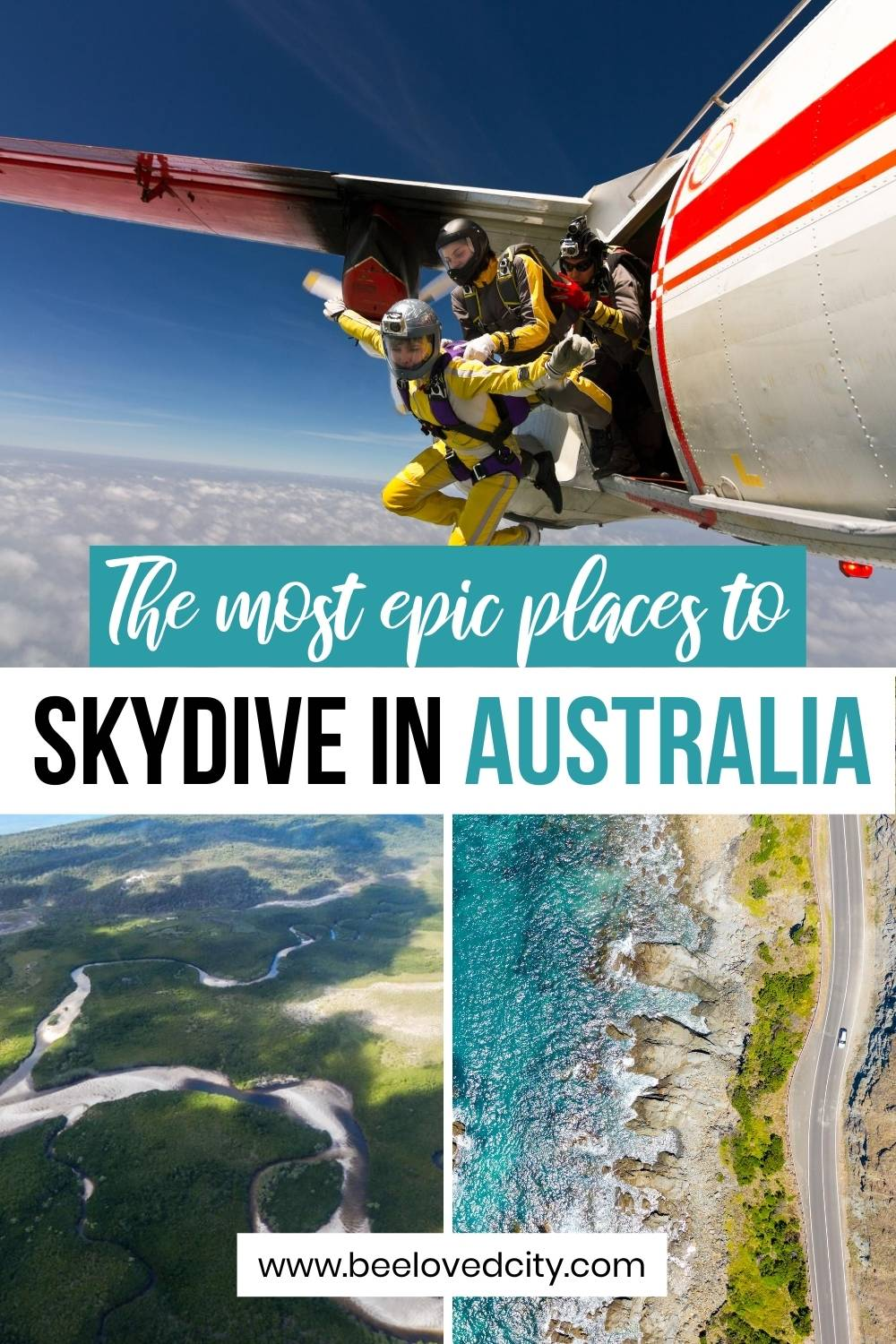 the best places to go skydiving in australia