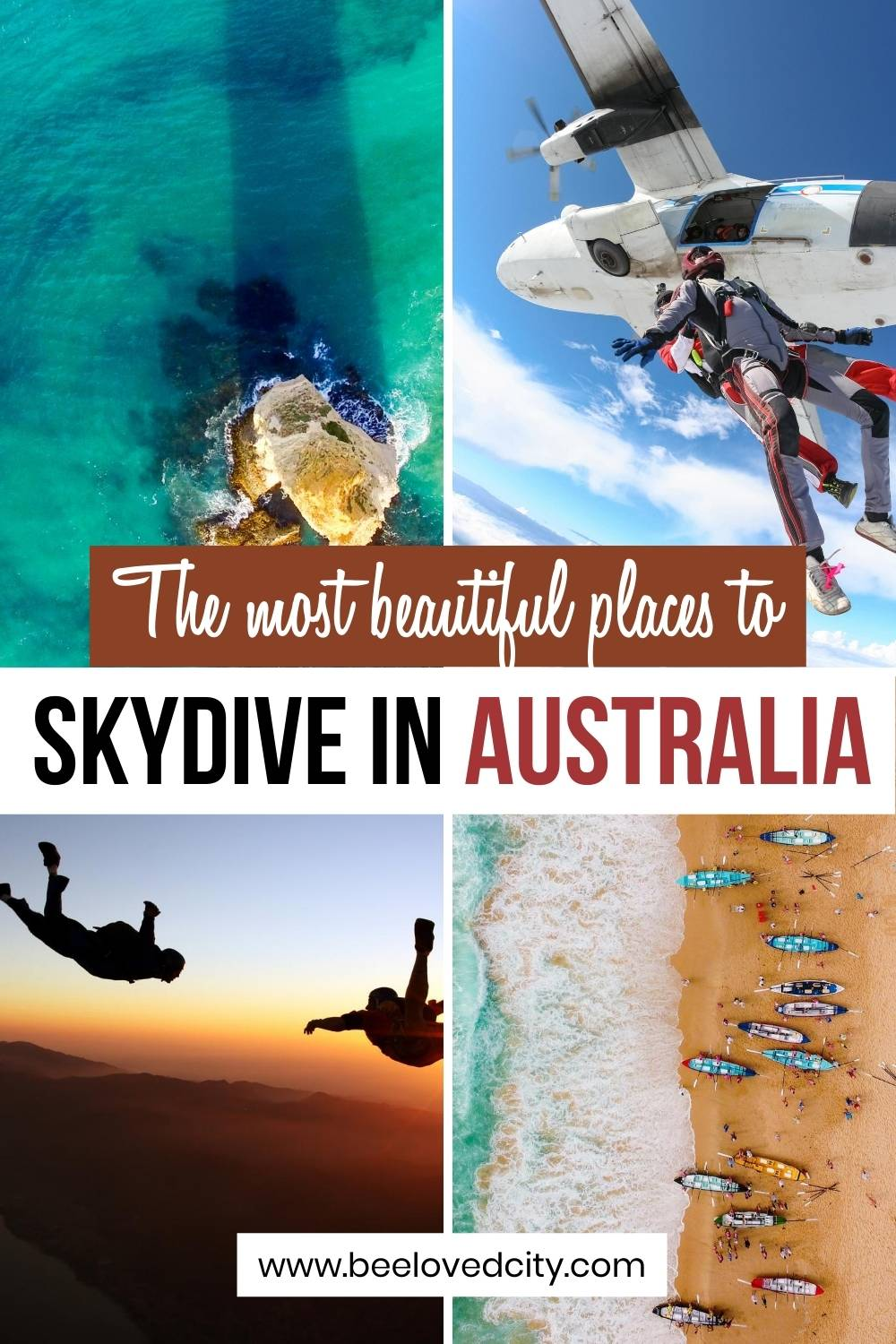the best skydiving spots in australia