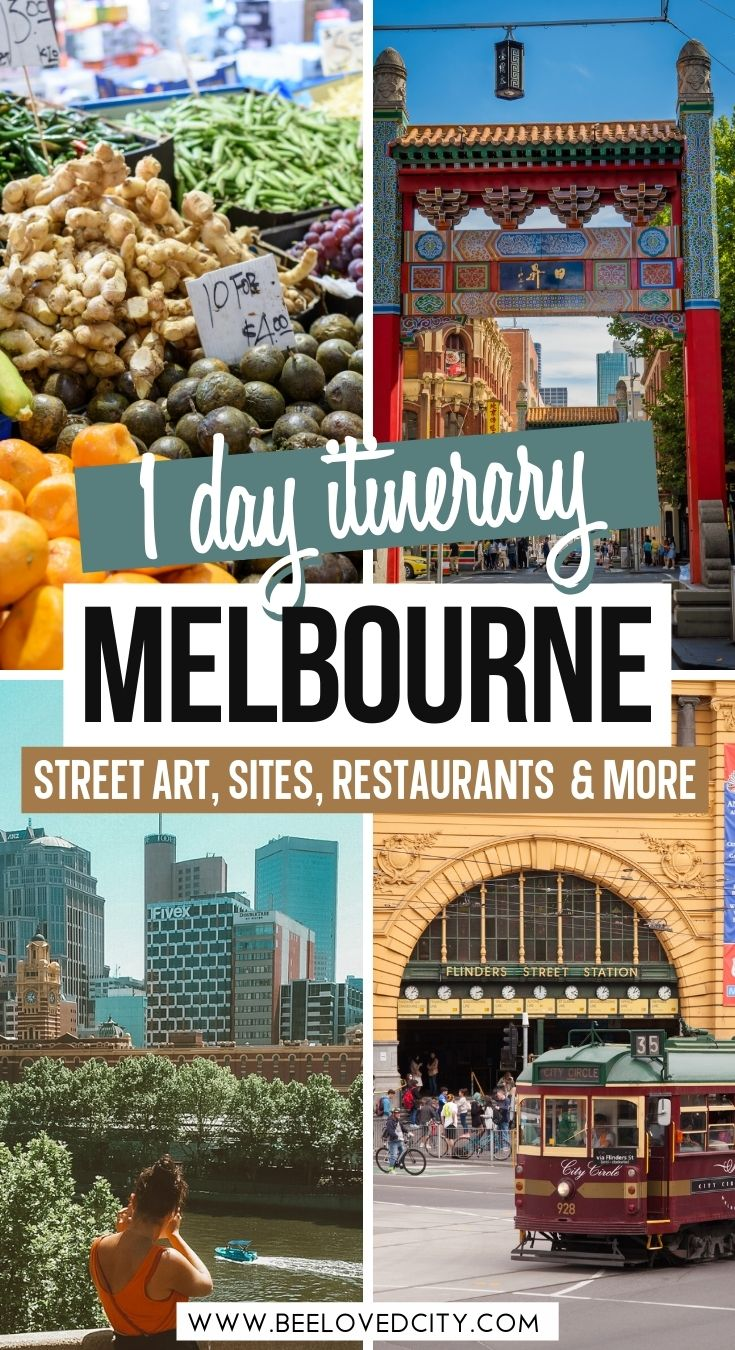 1 day in melbourne itinerary
