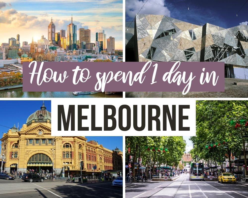 itinerary 1 day in melbourne