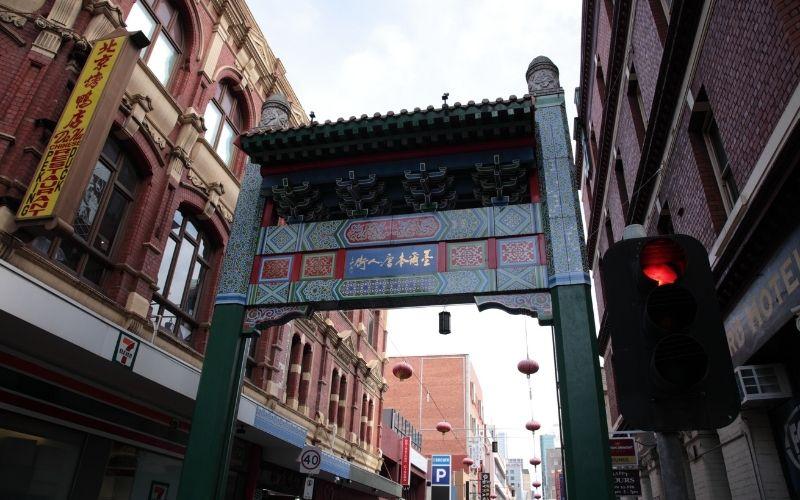 melbourne chinatown in the cbd