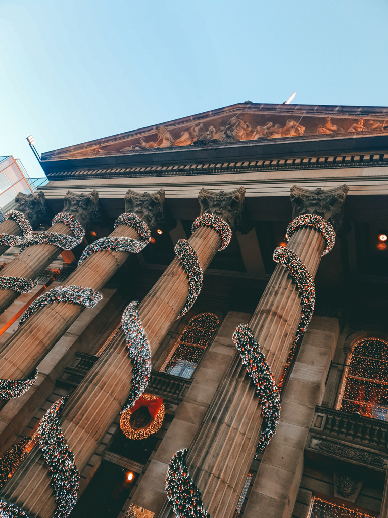 christmas decorations the dome edinburgh