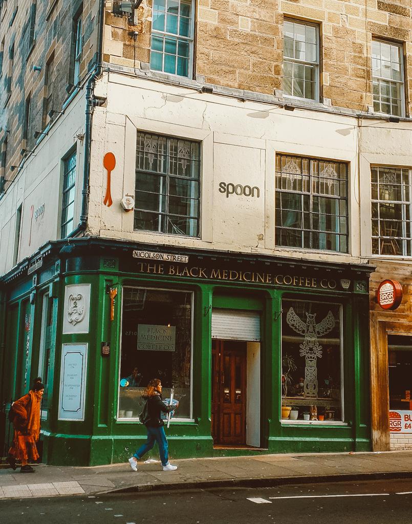 spoon cafe harry potter in edinburgh