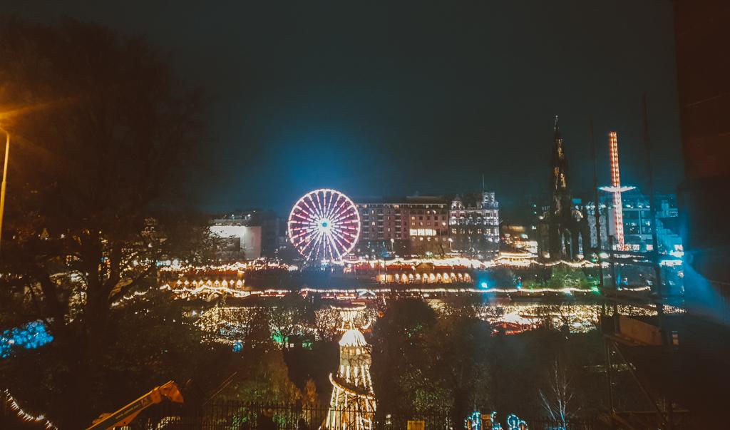 christmas lights in edinburgh