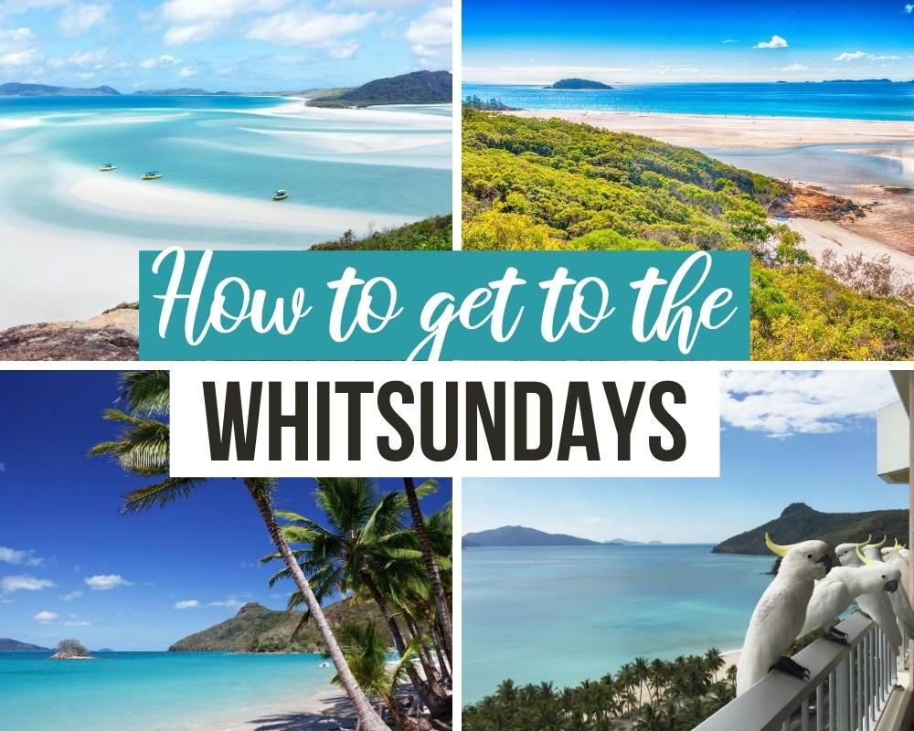 how to get to the whitsundays
