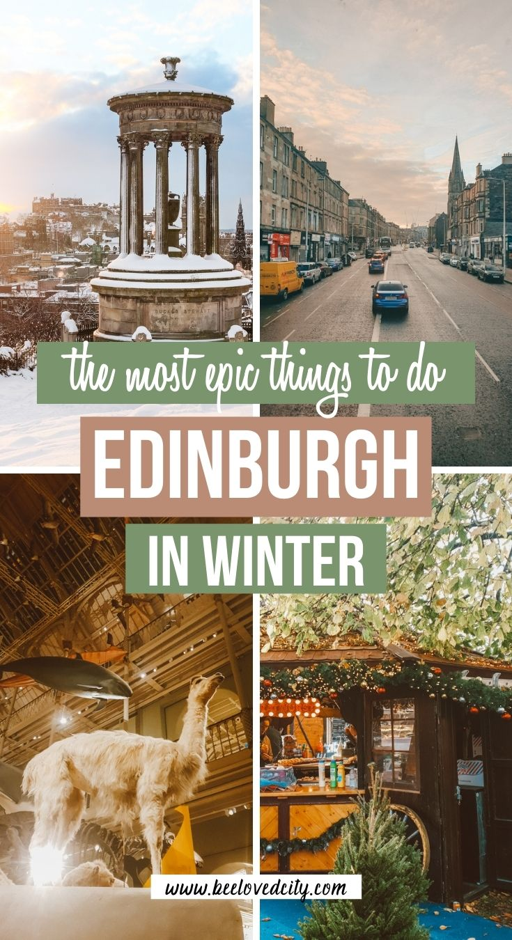 things to do in edinburgh in winter