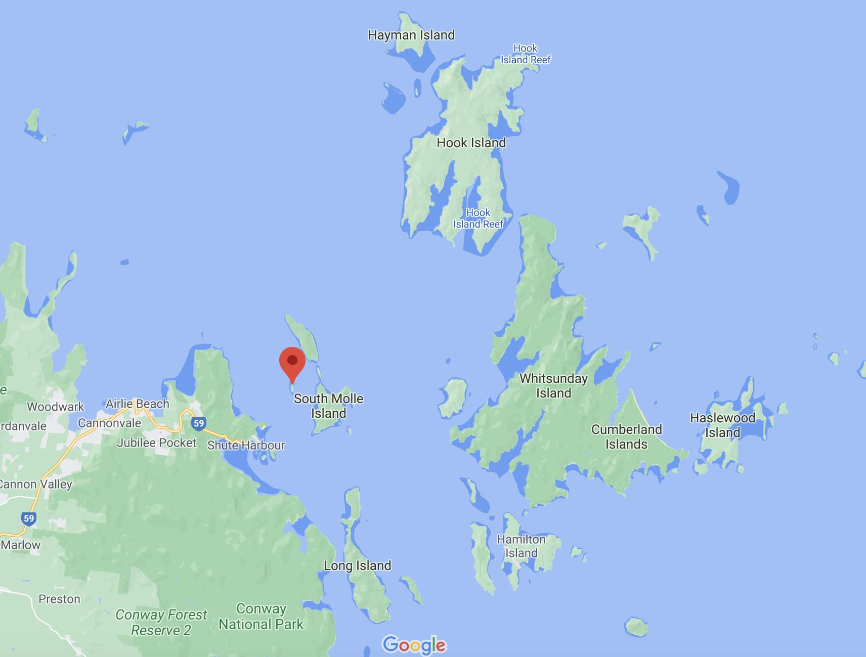where is daydream island