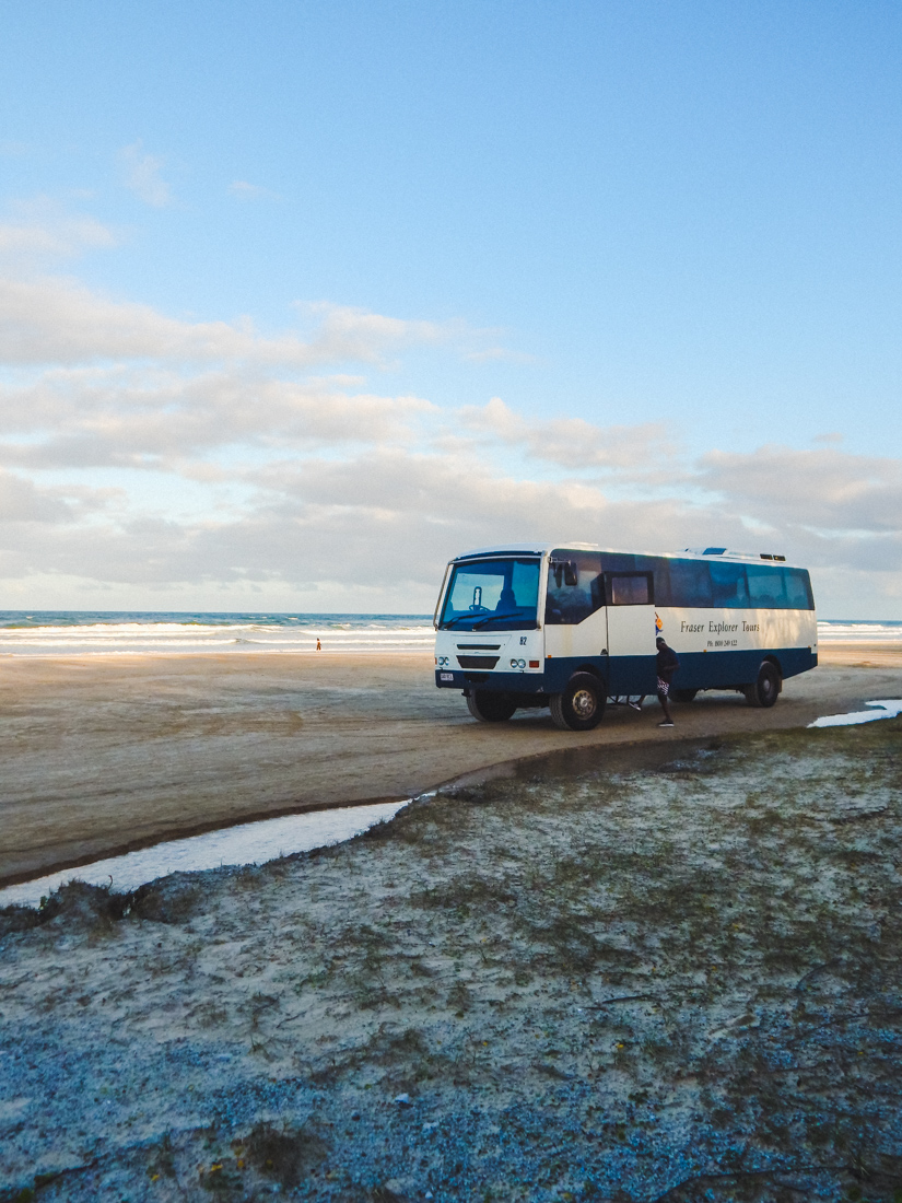 Tour on Fraser Island from Hervey Bay