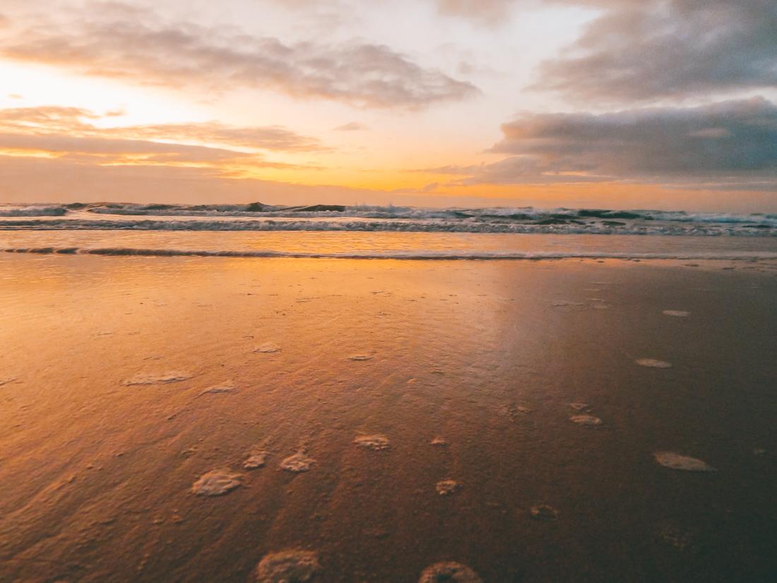 Sunset on fraser island