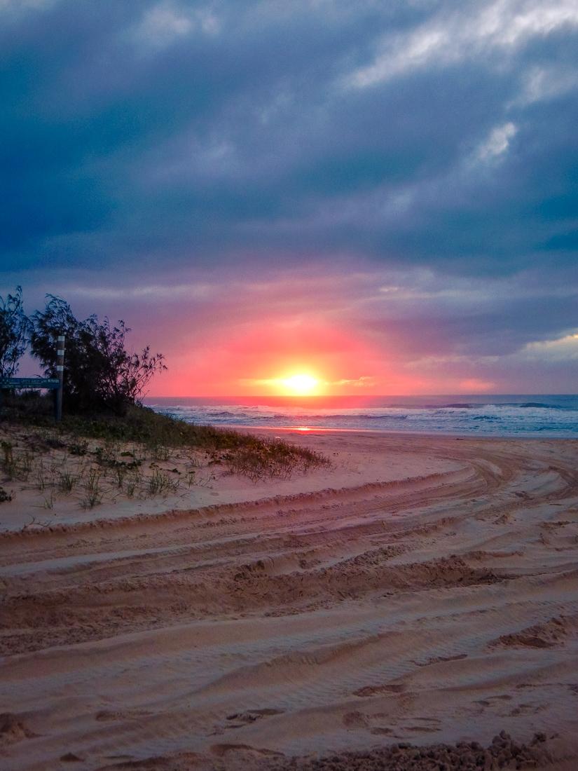 Sunrise on eurong beach
