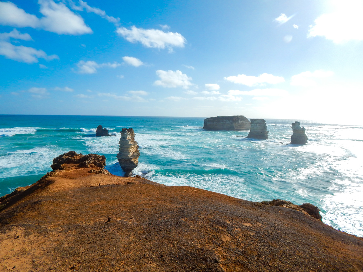 bay of martyrs on the great ocean road itinerary