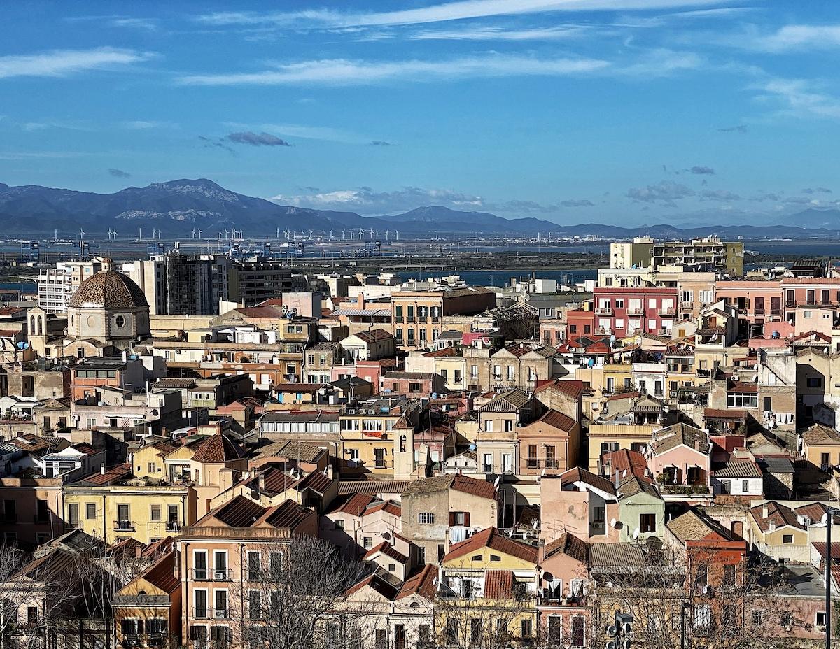 Cagliari in winter