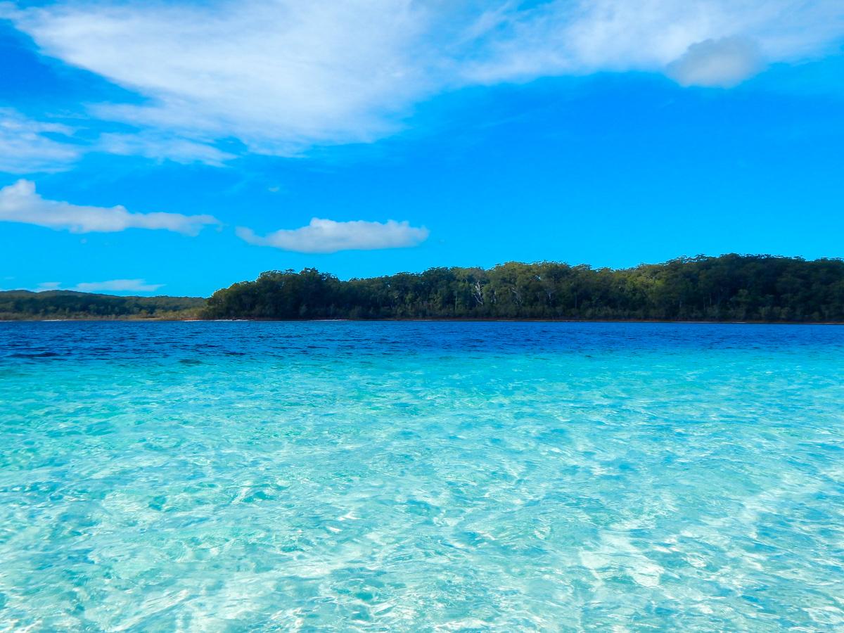 Lake Mckenzie on Fraser Island Queensland Australia