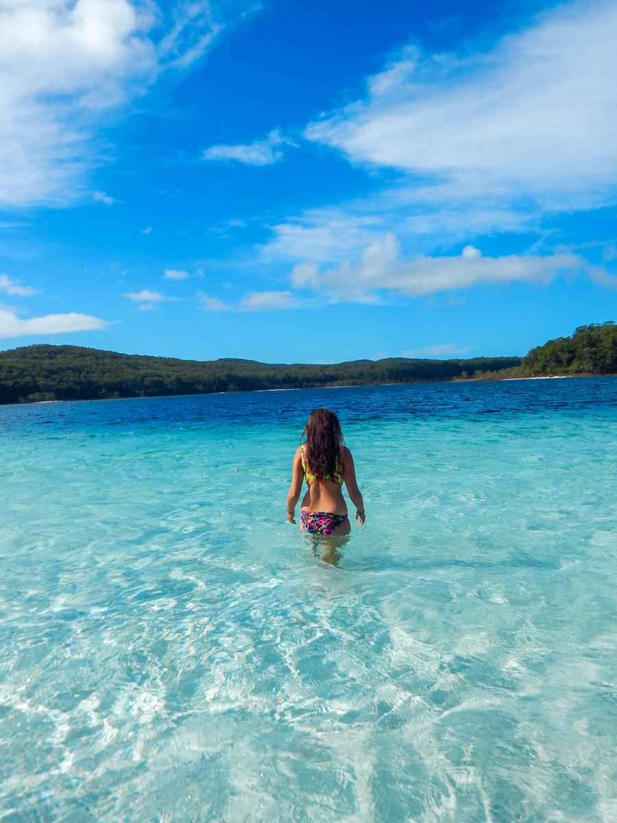 Instagram Lake McKenzie Fraser Island Australia