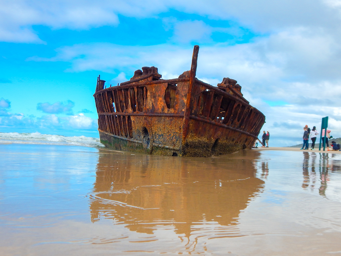 SS Maheno Fraser Island shipwreck