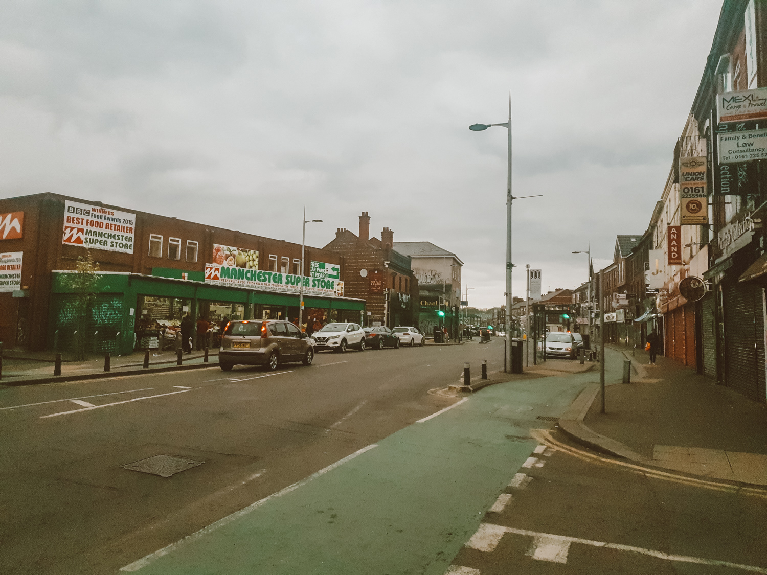 curry mile in manchester rusholme