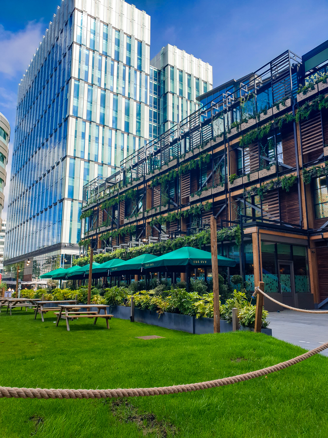 The Ivy in Manchester Spinningfield
