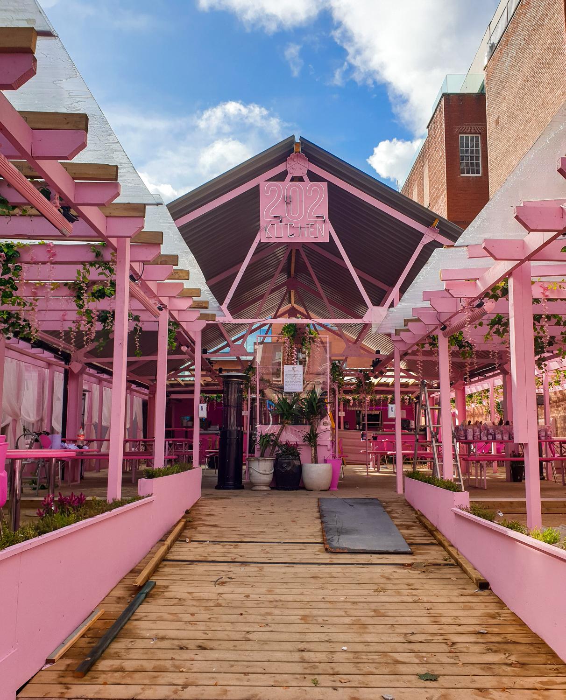 Manchester pink bar