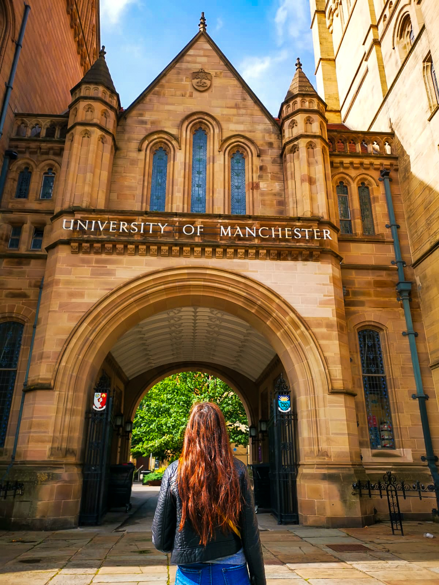 Manchester University Instagrammable place in Manchester