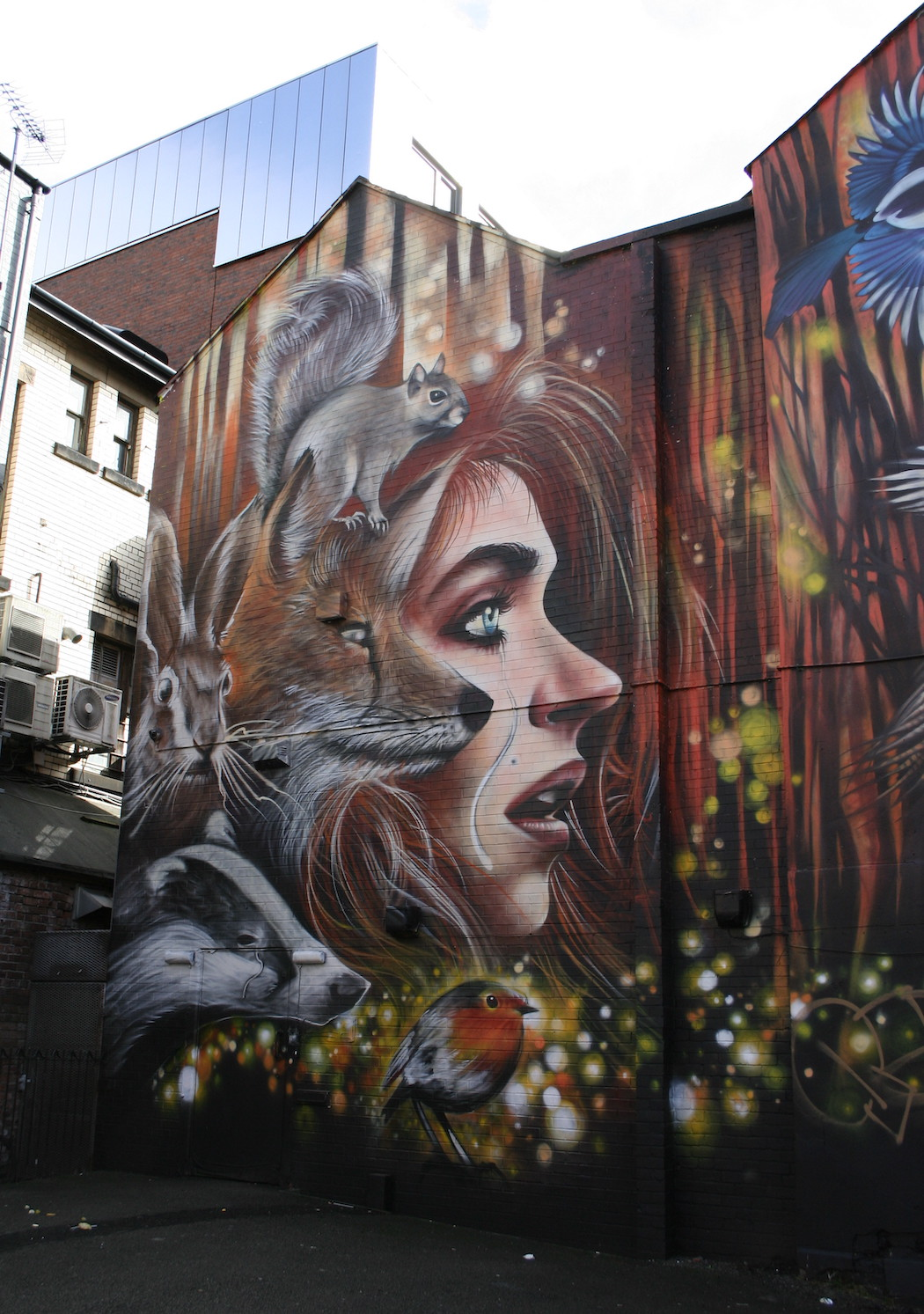 manchester murals in northern quarter