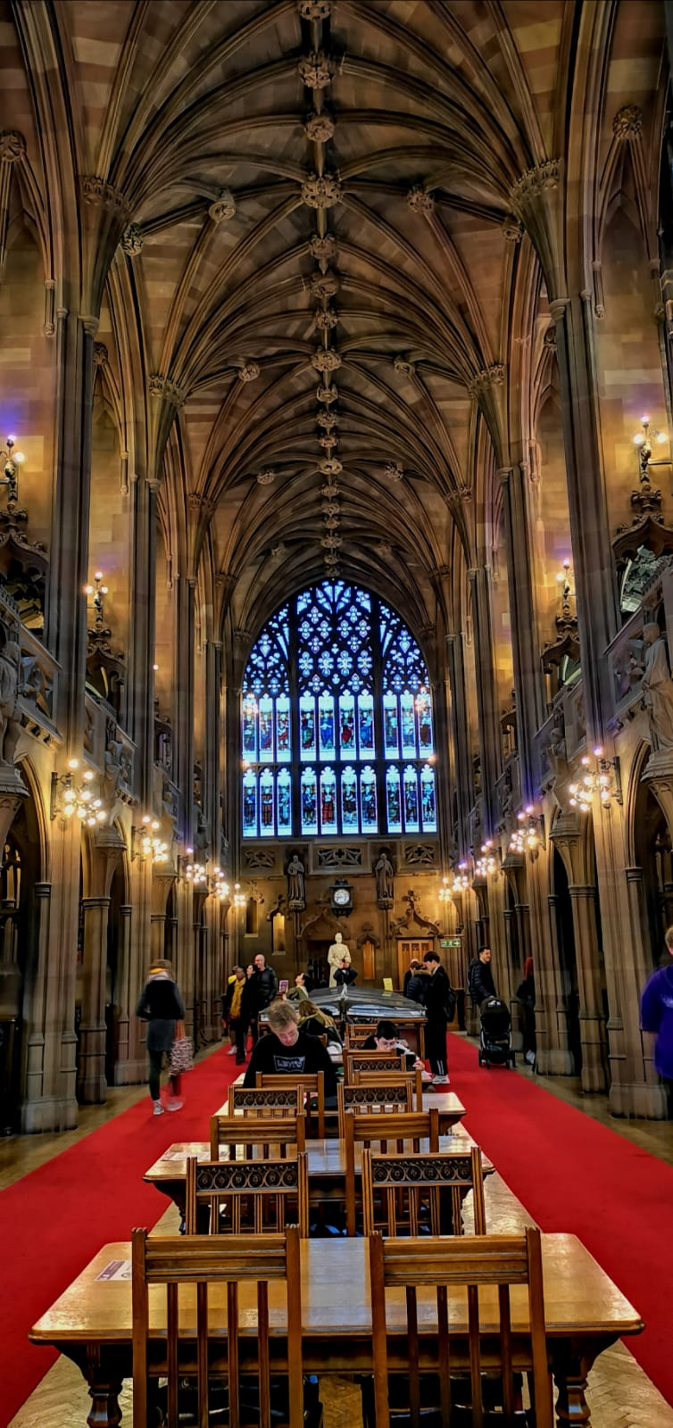 john ryland library in manchester