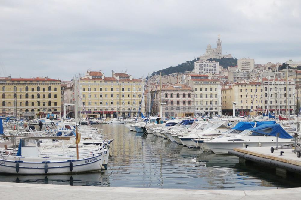 Marseille in winter