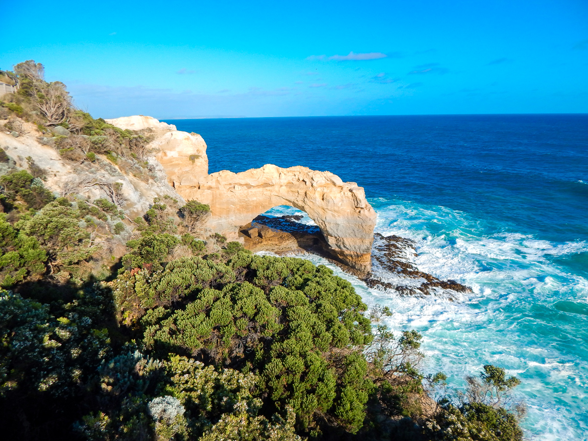 The arch on the great ocean road Australia